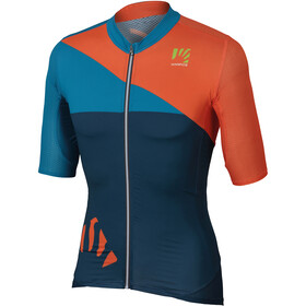 Karpos Verve Jersey Heren, insignia blue/orange fluo